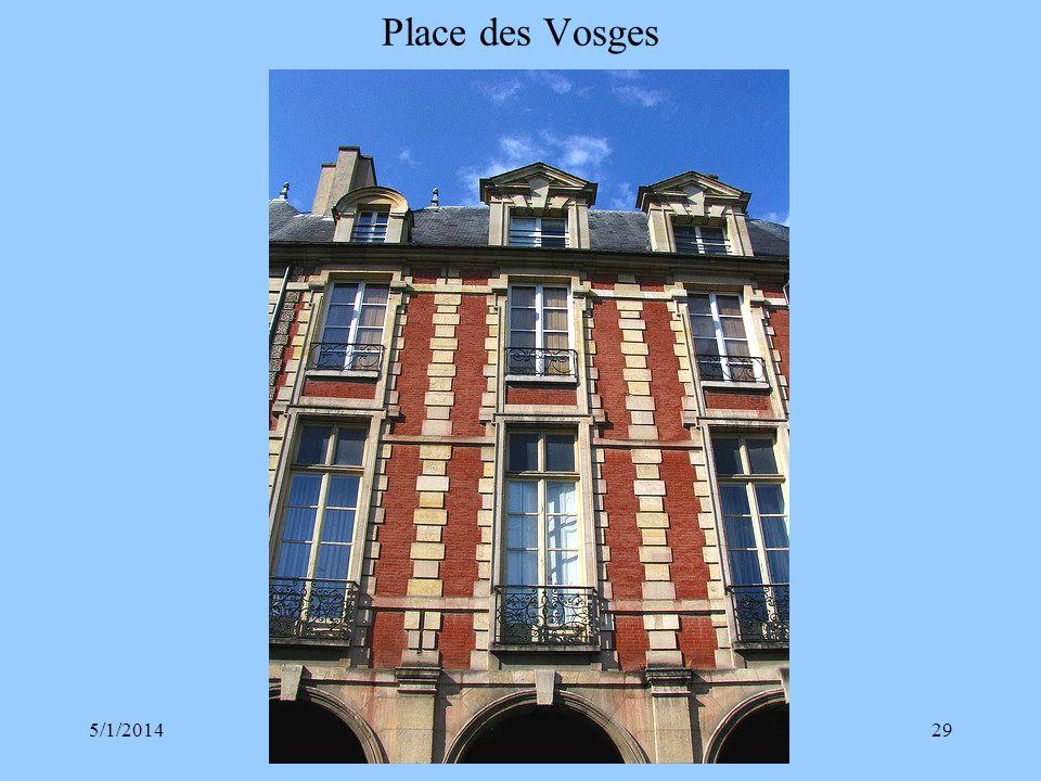 Place des Vosges 3/30/2017