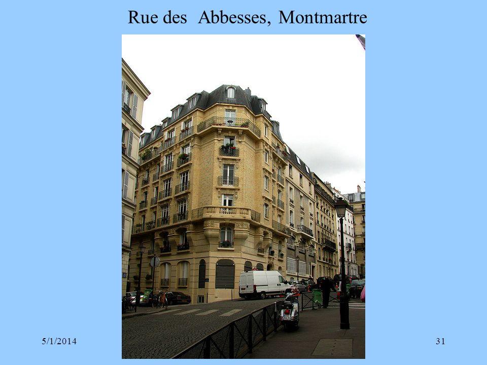 Rue des Abbesses, Montmartre
