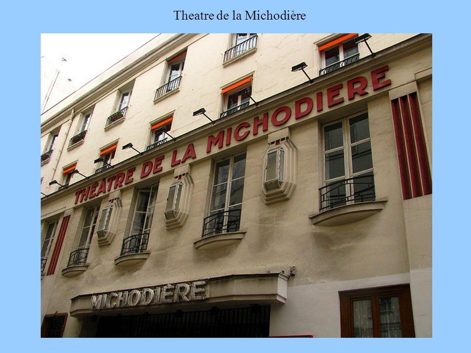 Theatre de la Michodière