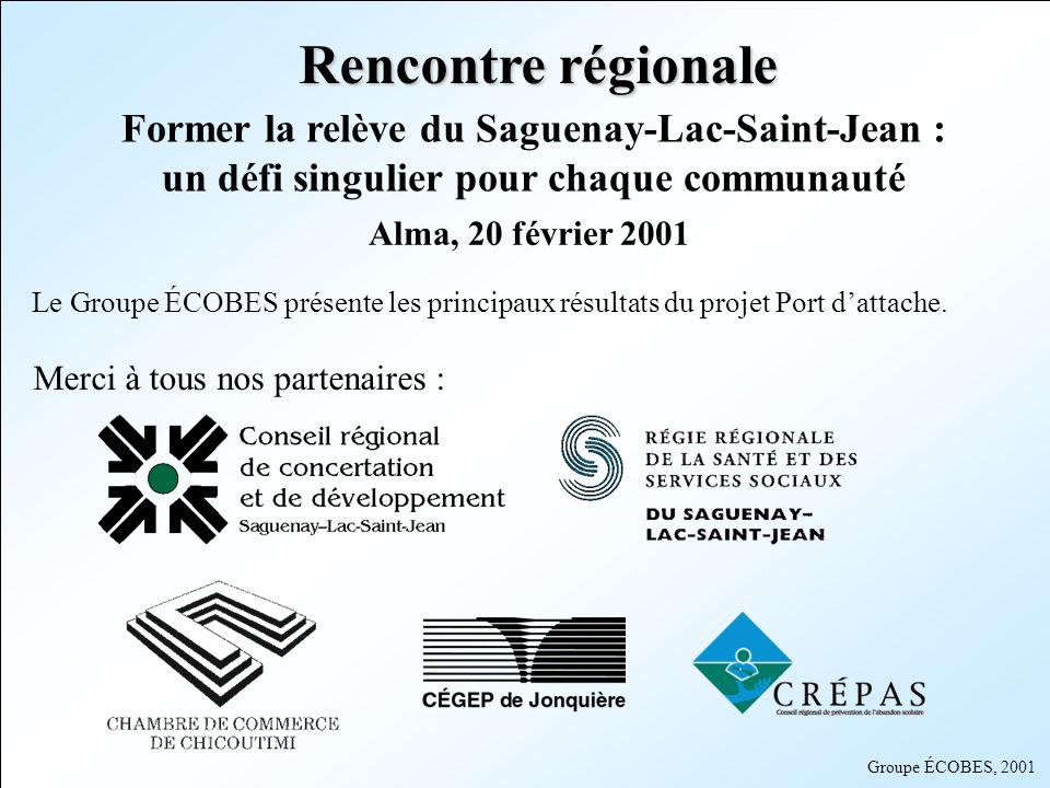 Rencontre régionale Former la relève du Saguenay-Lac-Saint-Jean : un défi singulier pour chaque communauté.