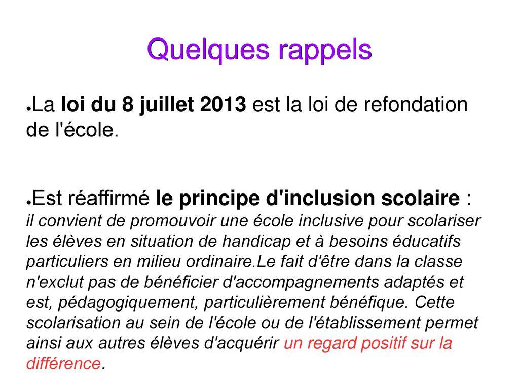 loi de refondation 2013 pdf