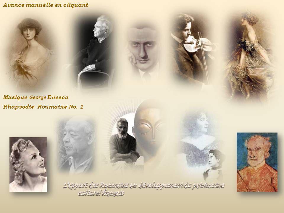 L'apport des Roumains au développement du patrimoine culturel français