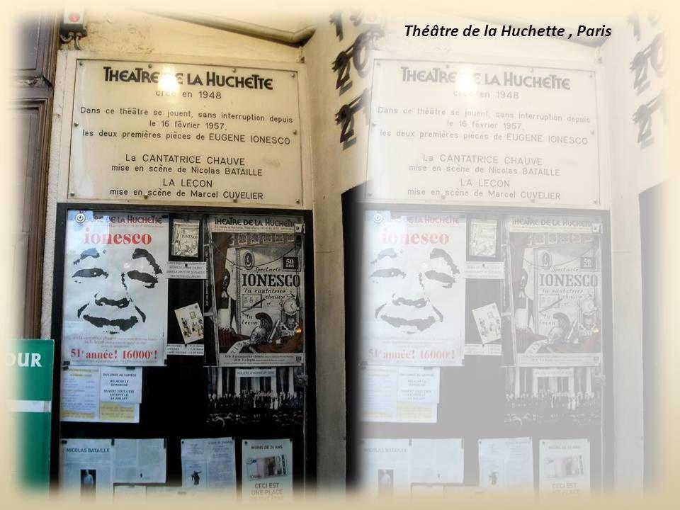 Théâtre de la Huchette , Paris