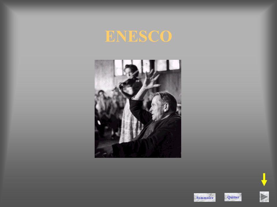 ENESCO Sommaire Quitter
