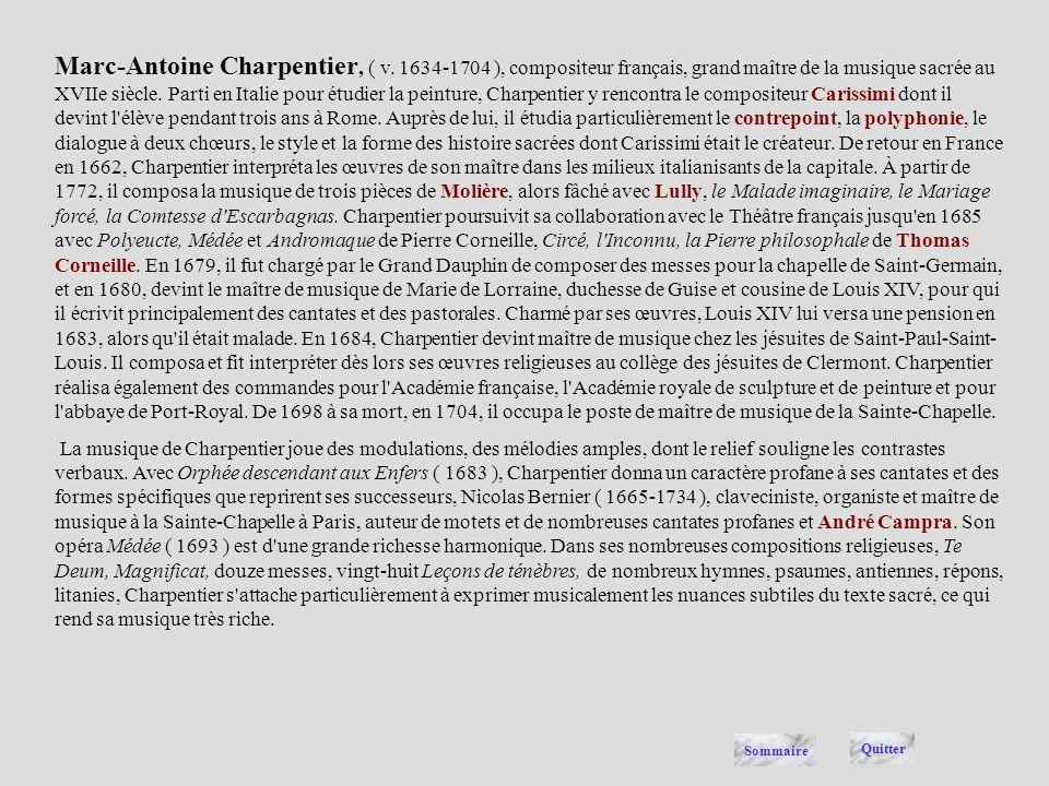 Marc-Antoine Charpentier, ( v
