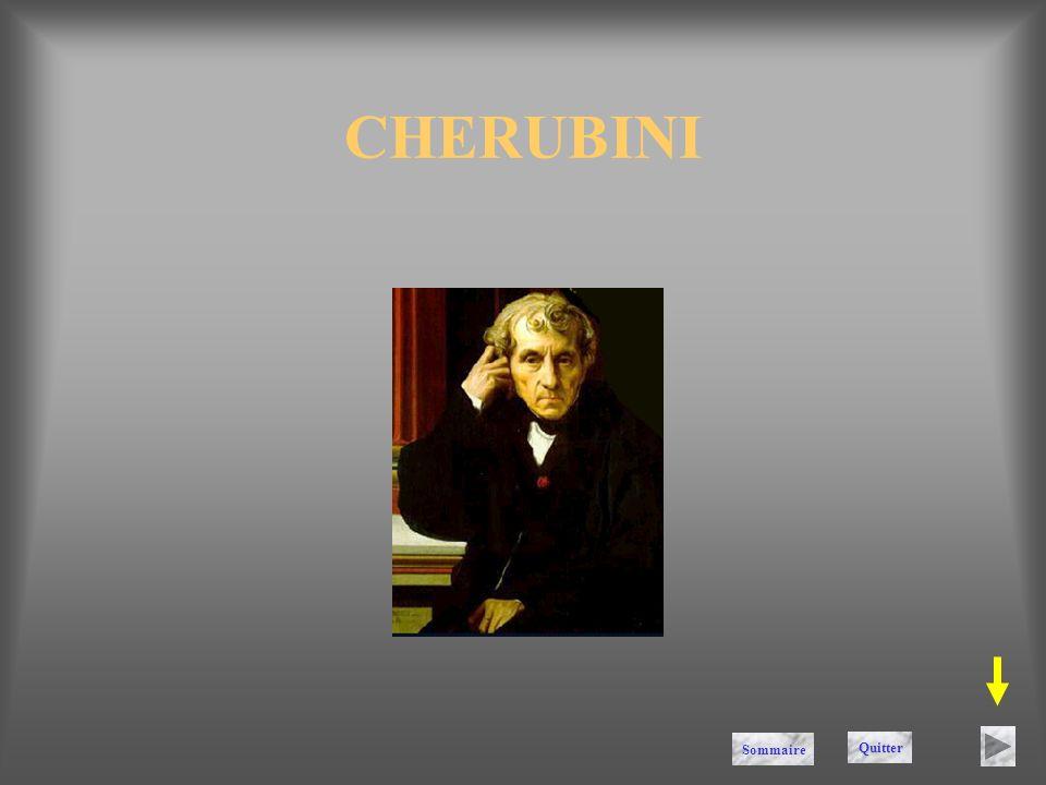 CHERUBINI Sommaire Quitter