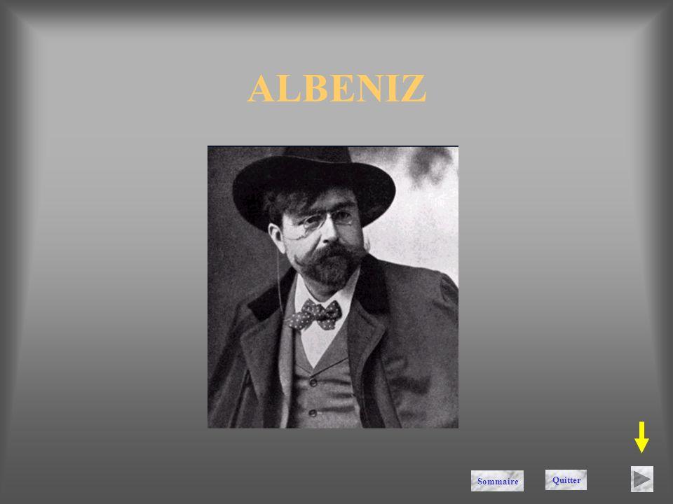 ALBENIZ Sommaire Quitter