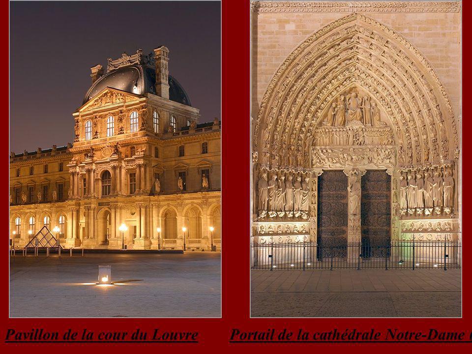 Pavillon de la cour du Louvre