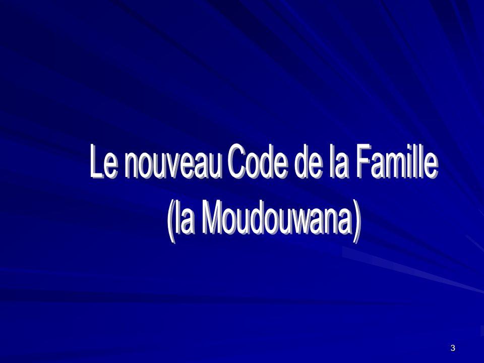 Le nouveau Code de la Famille