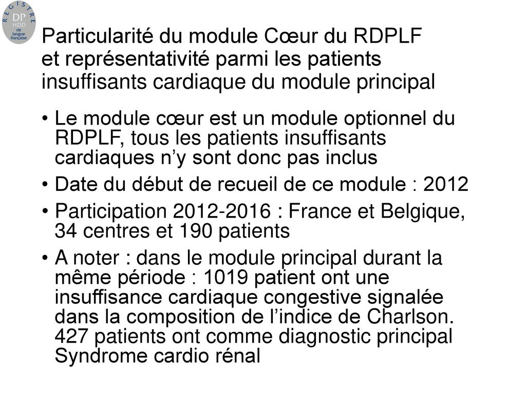 les diff rentes sources d information sur les patients insuffisants cardiaques trait s par dp. Black Bedroom Furniture Sets. Home Design Ideas