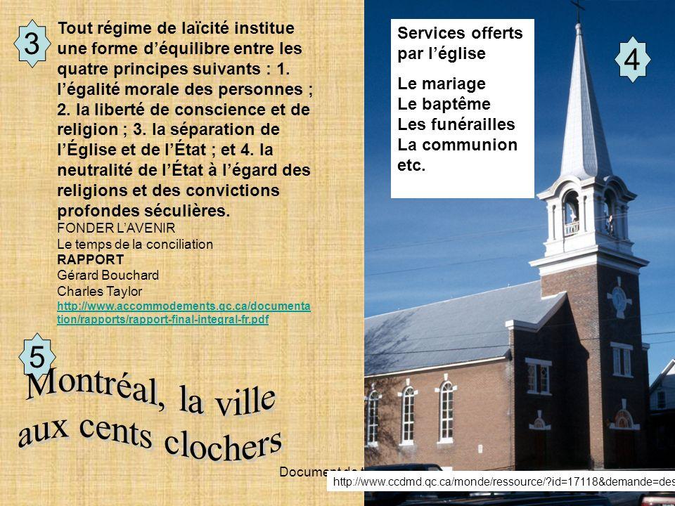 Montréal, la ville aux cents clochers 3 4 5