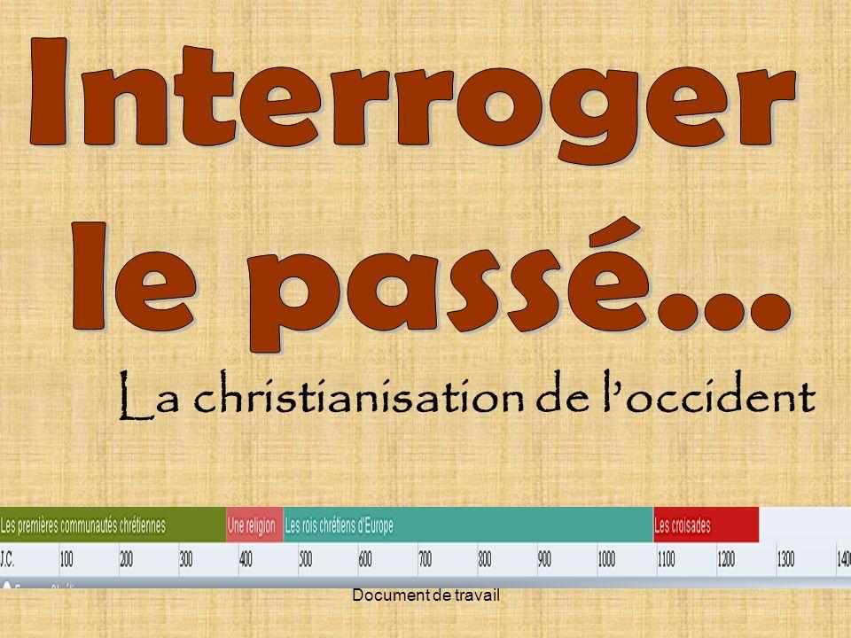 La christianisation de l'occident