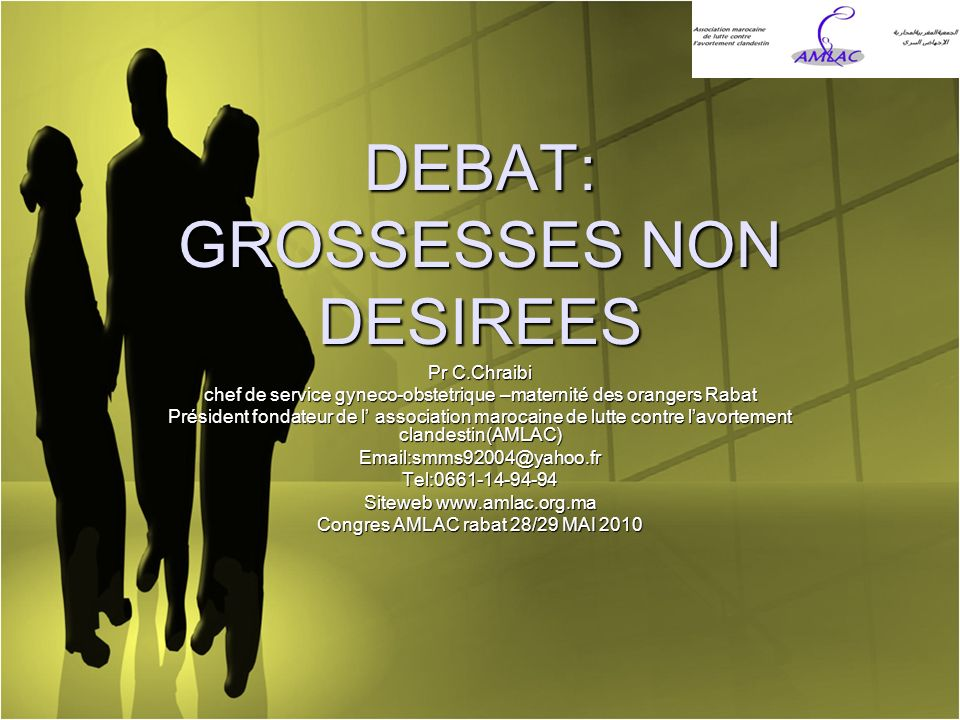 DEBAT: GROSSESSES NON DESIREES