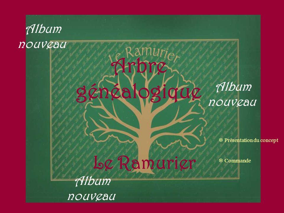 Arbre généalogique Le Ramurier Album nouveau Album nouveau
