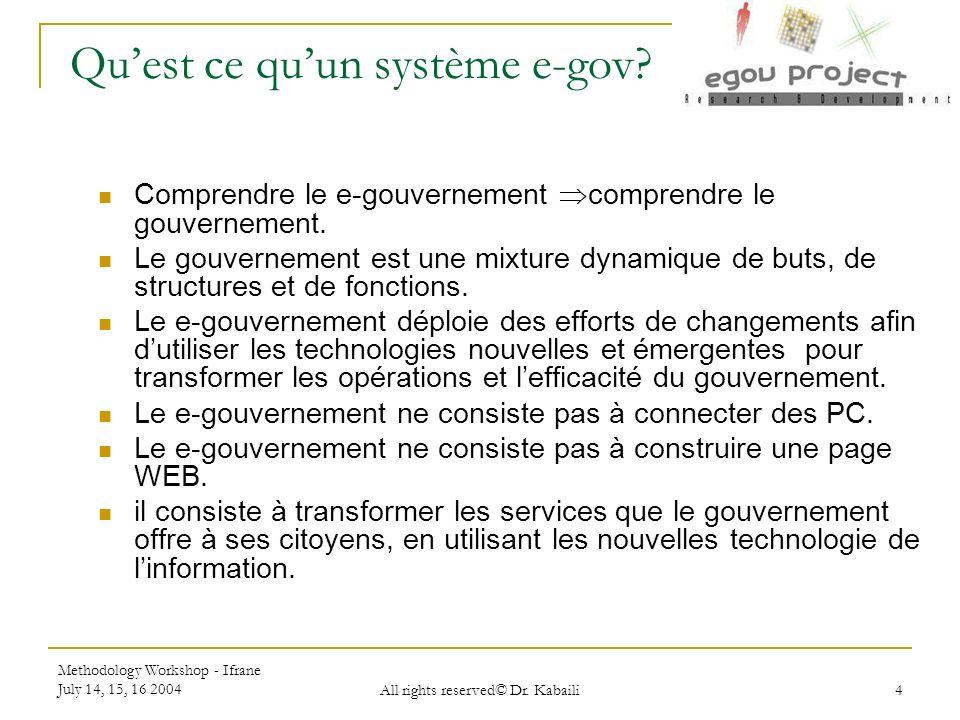 Qu'est ce qu'un système e-gov