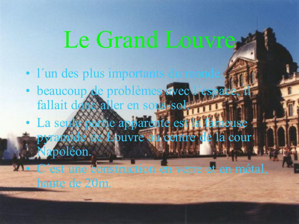 Le Grand Louvre l´un des plus importants du monde