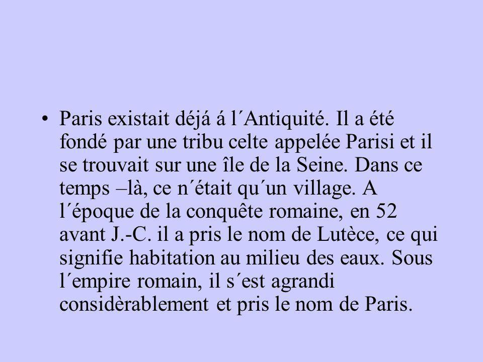 Paris existait déjá á l´Antiquité