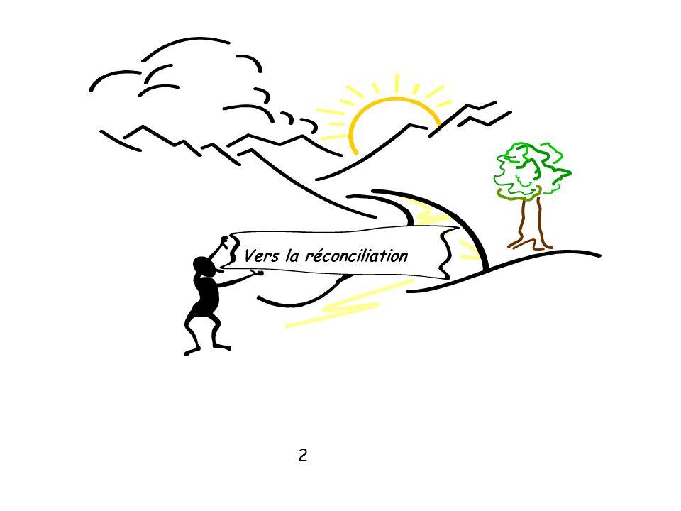Vers la réconciliation
