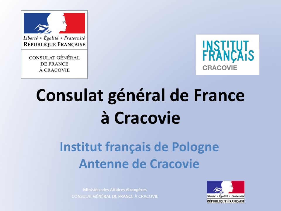 Consulat général de France à Cracovie
