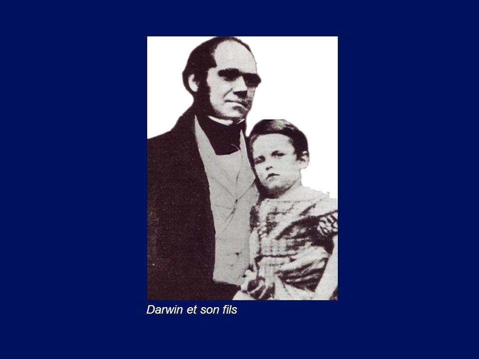 Darwin et son fils