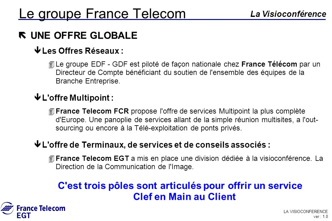 Le groupe France Telecom