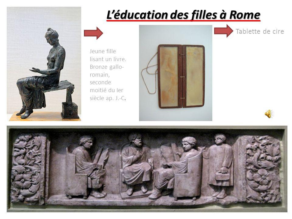L'éducation des filles à Rome