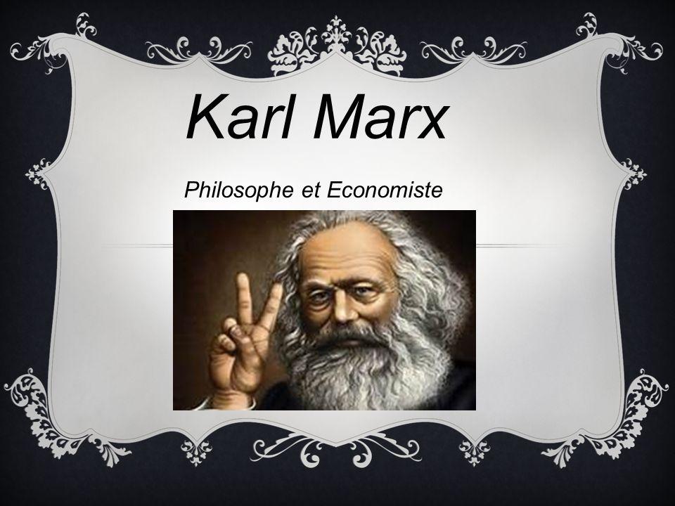 Philosophe et Economiste