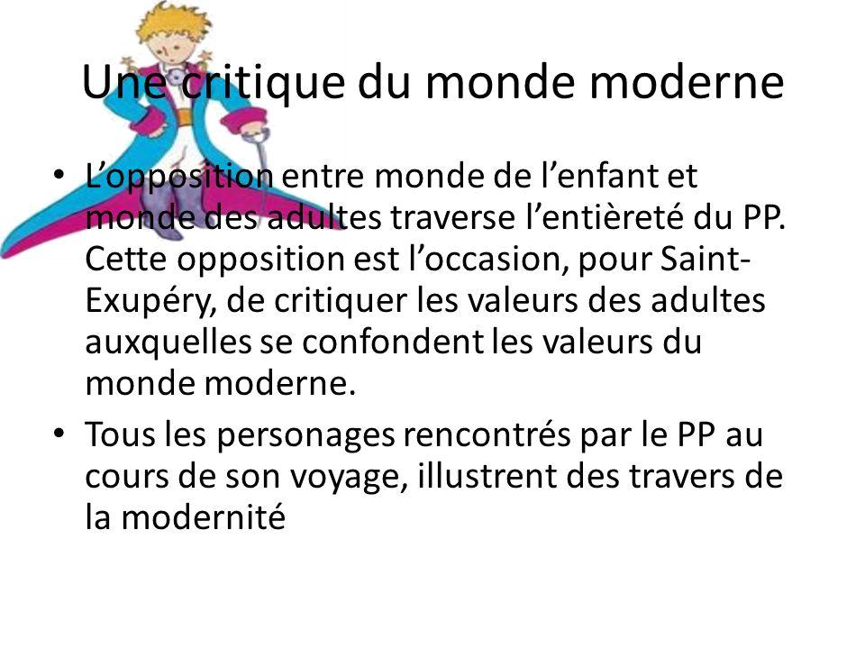 Une critique du monde moderne