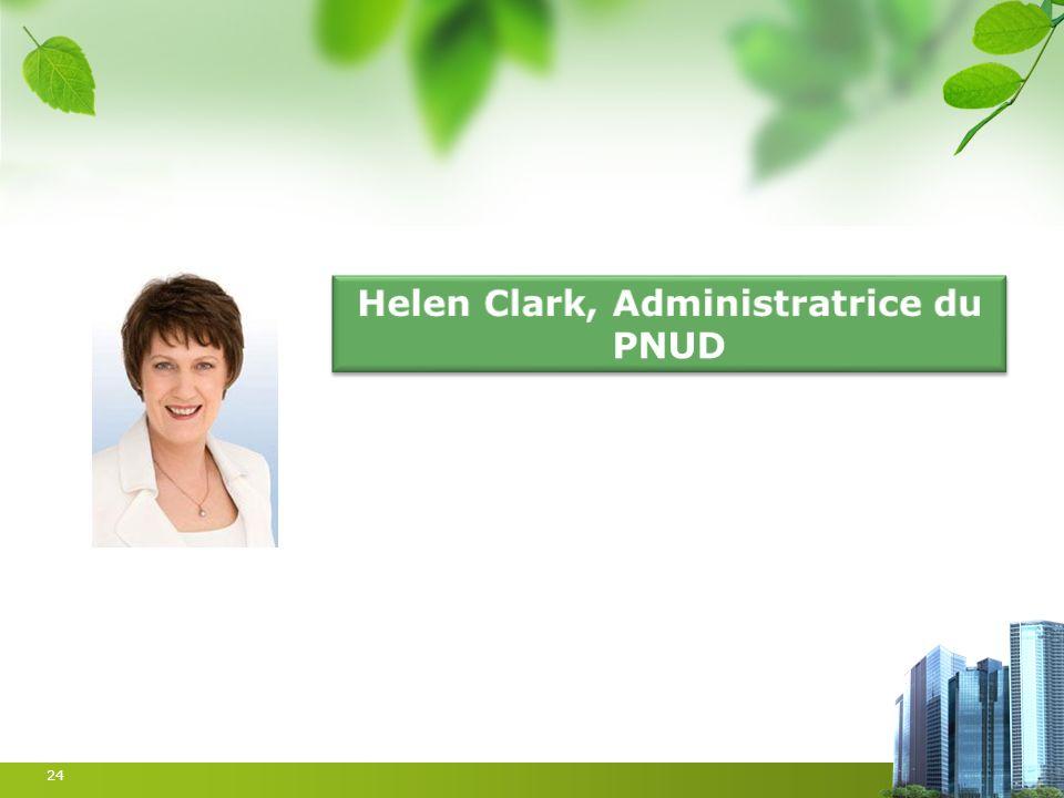 Helen Clark, Administratrice du PNUD