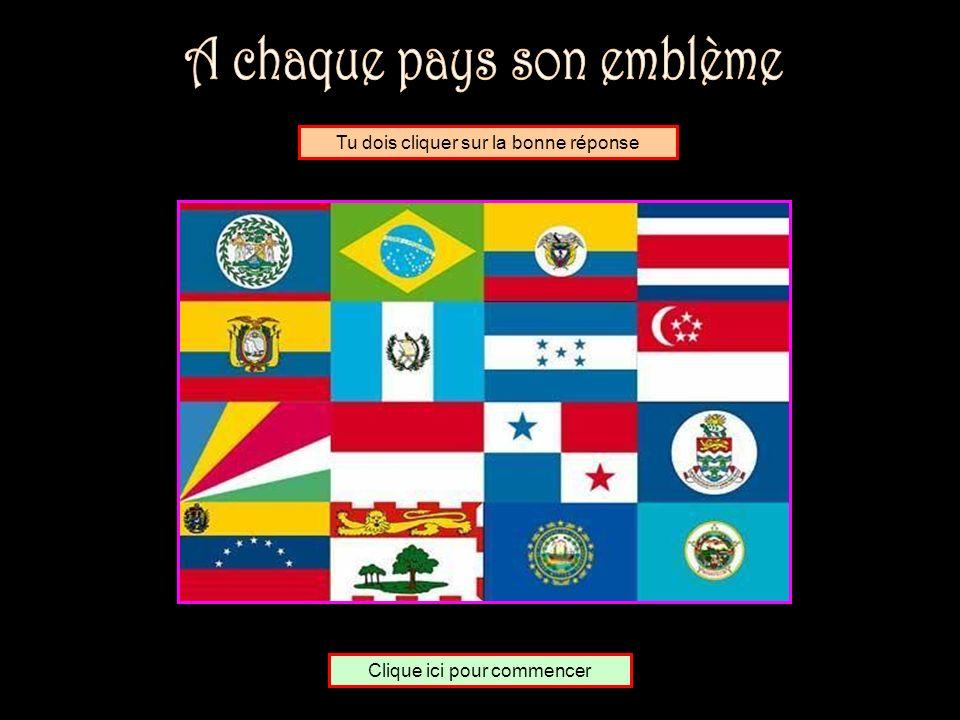 A chaque pays son emblème