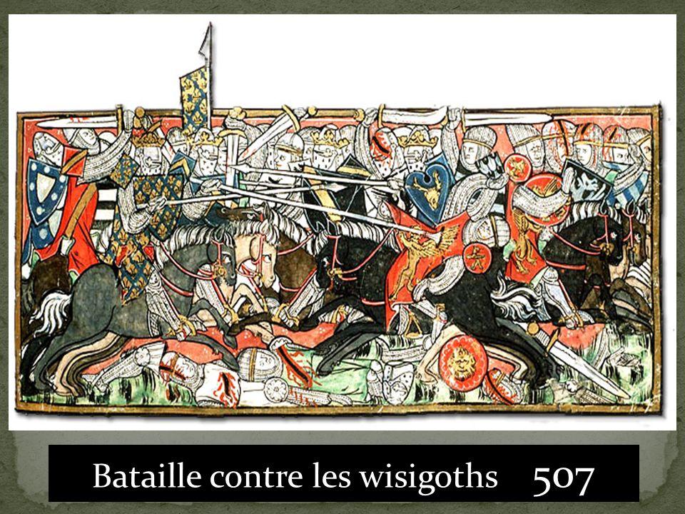 Bataille contre les wisigoths 507