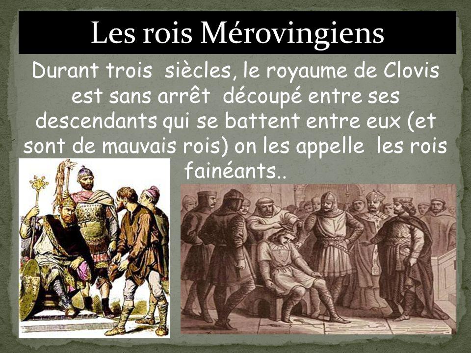 Les rois Mérovingiens