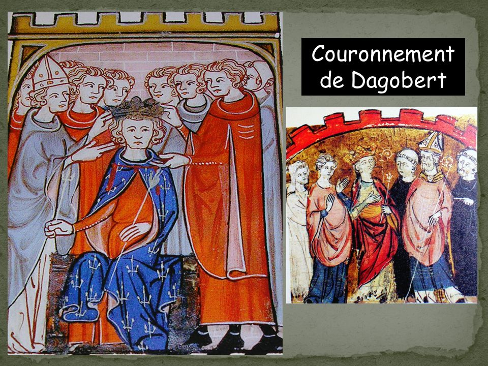 Couronnement de Dagobert