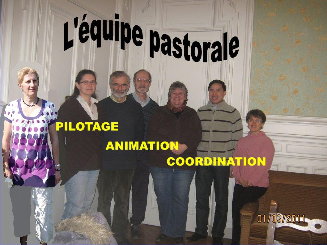 L équipe pastorale PILOTAGE ANIMATION COORDINATION
