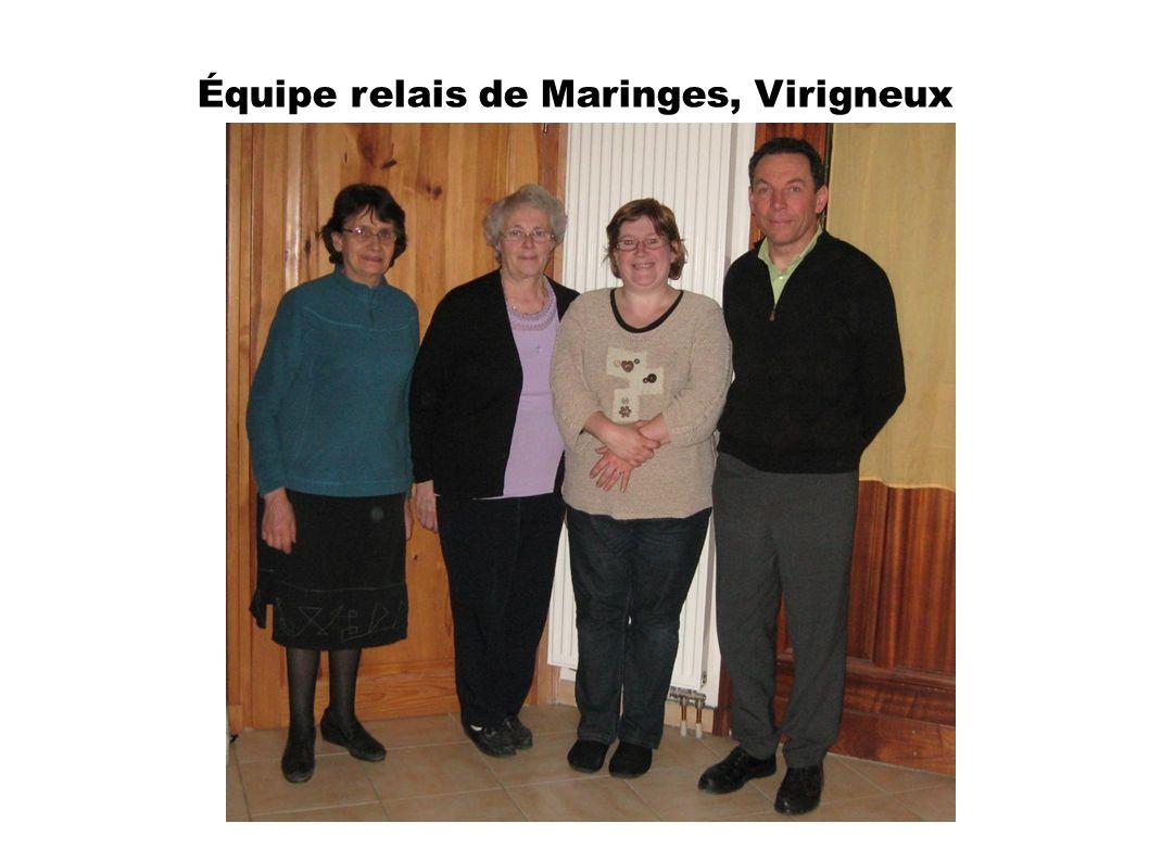 Équipe relais de Maringes, Virigneux