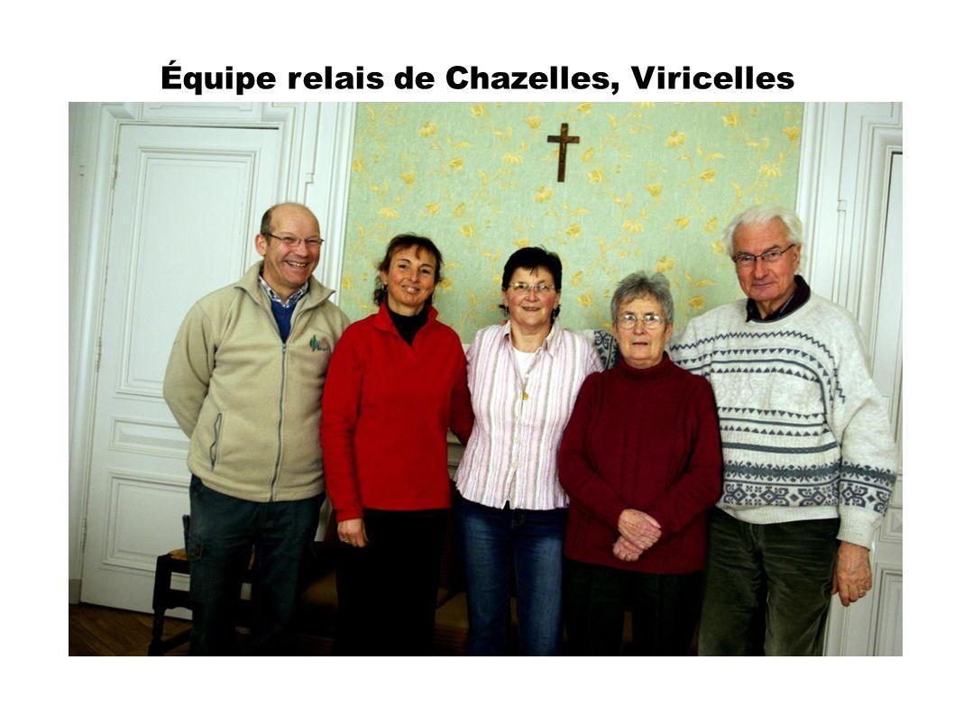 Équipe relais de Chazelles, Viricelles