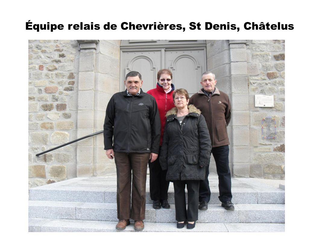 Équipe relais de Chevrières, St Denis, Châtelus