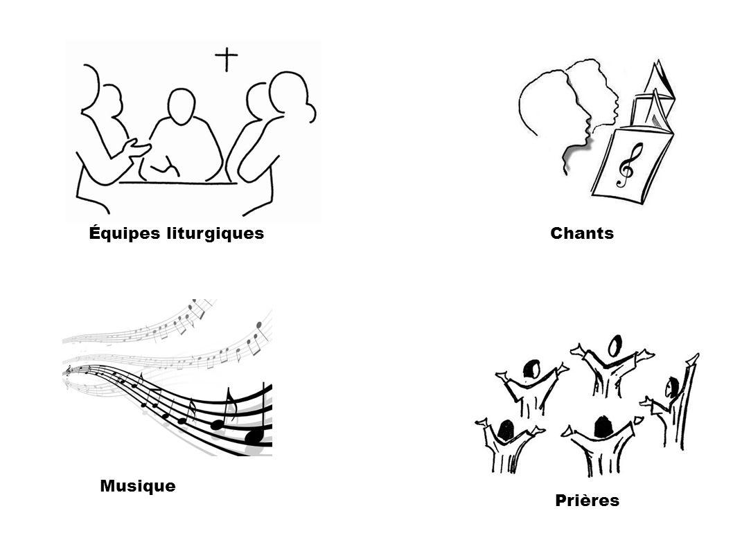 Équipes liturgiques Chants Musique Prières