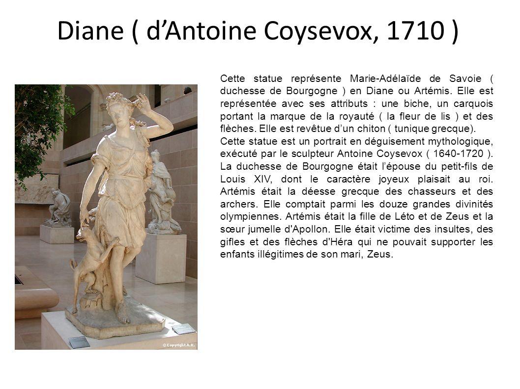 Diane ( d'Antoine Coysevox, 1710 )