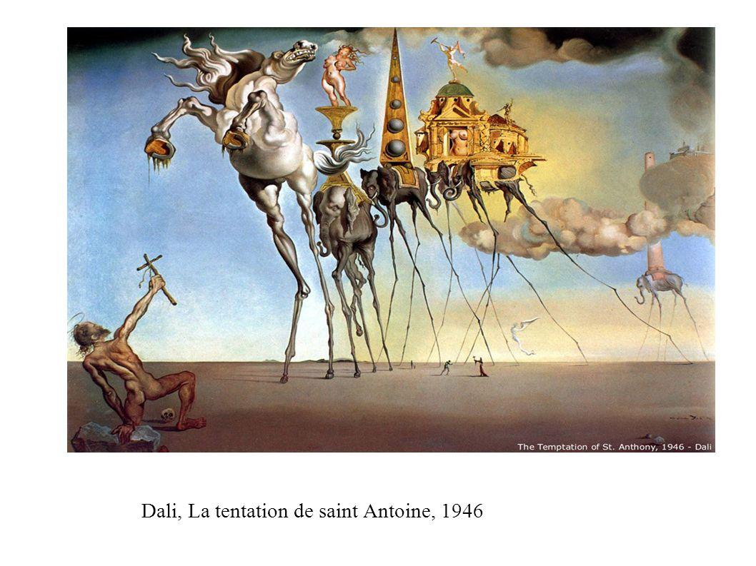 Dali, La tentation de saint Antoine, 1946