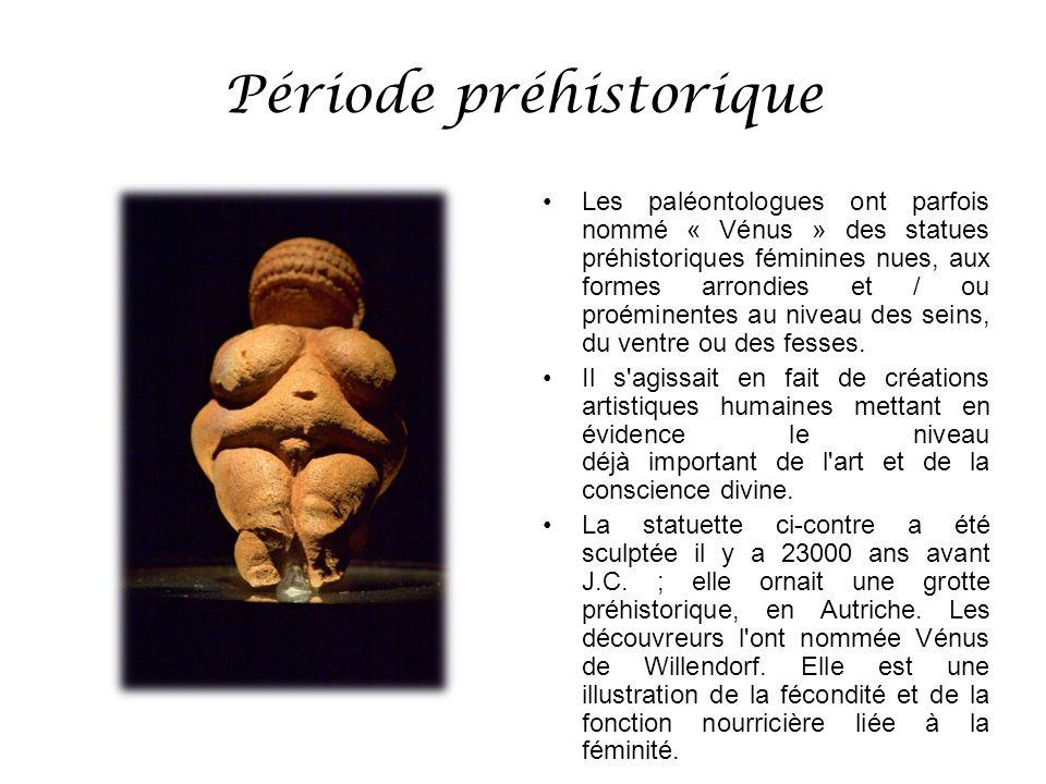 Période préhistorique