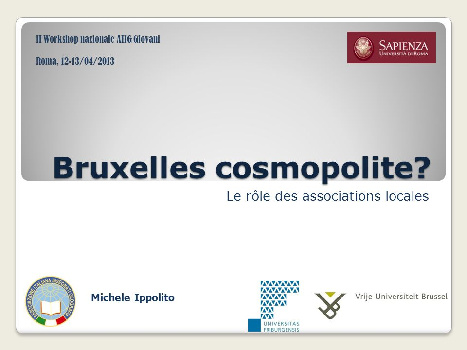 Bruxelles cosmopolite
