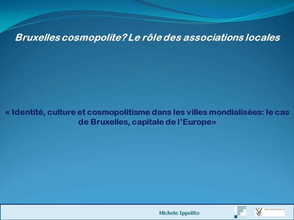 Bruxelles cosmopolite Le rôle des associations locales