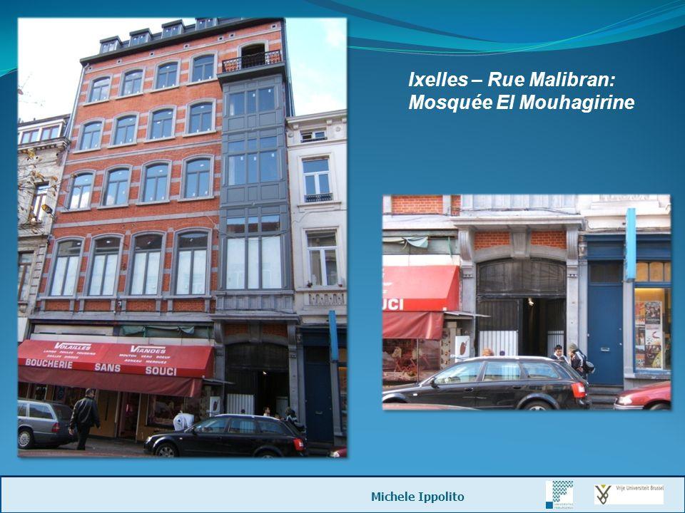 Ixelles – Rue Malibran: Mosquée El Mouhagirine