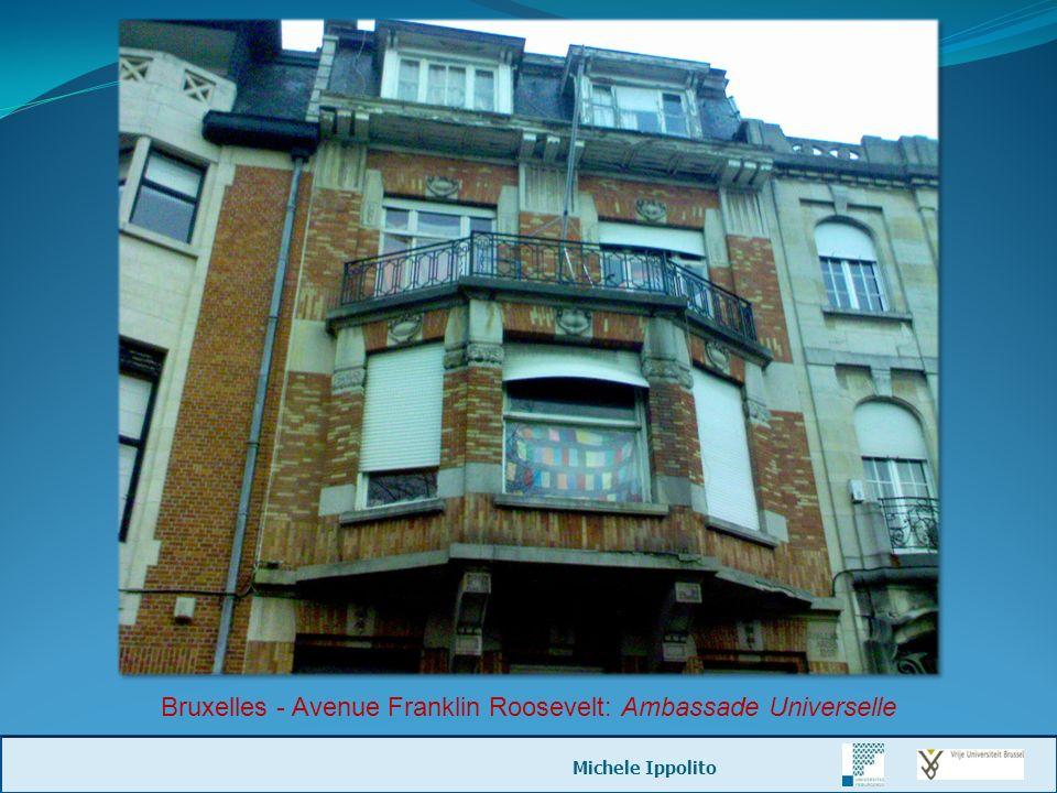 Bruxelles - Avenue Franklin Roosevelt: Ambassade Universelle