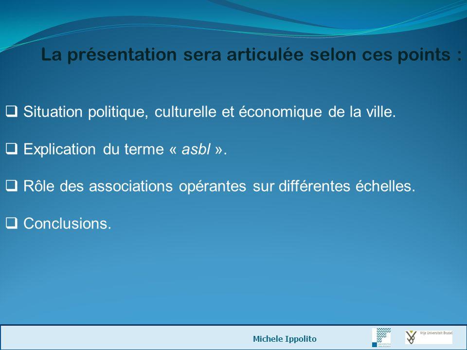 La présentation sera articulée selon ces points :