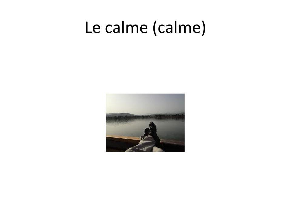 Le calme (calme)