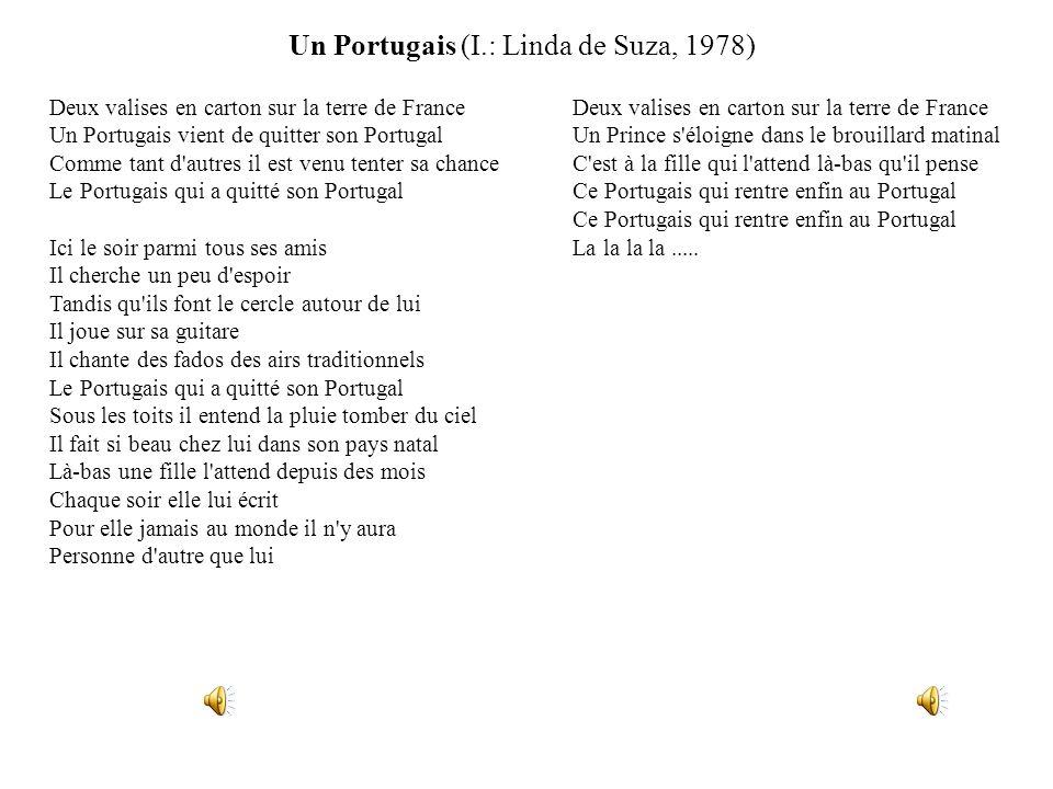 Un Portugais (I.: Linda de Suza, 1978)
