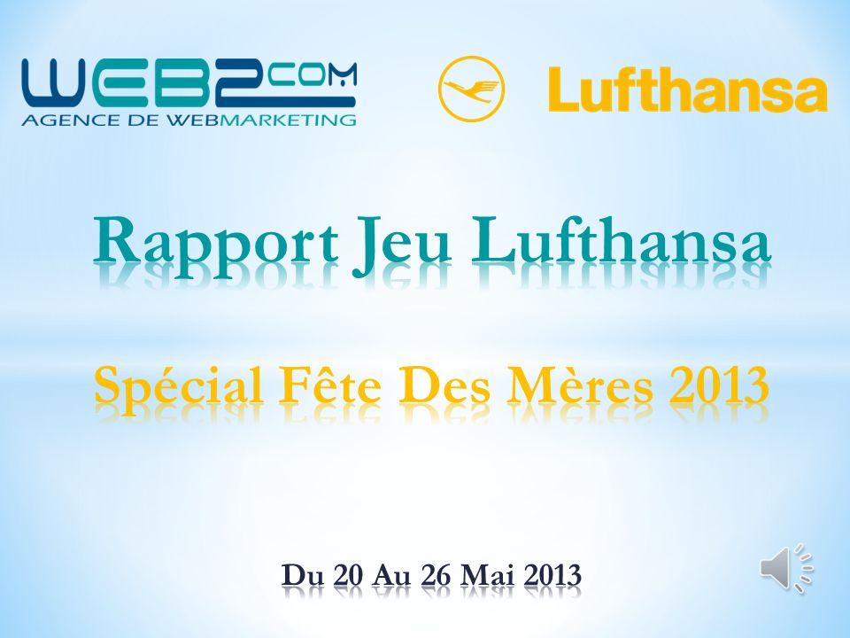 Rapport Jeu Lufthansa Spécial Fête Des Mères 2013 Du 20 Au 26 Mai 2013