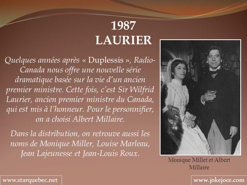 Monique Millet et Albert Millaire